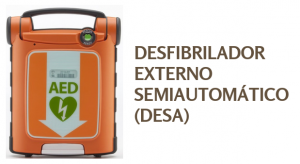 curso de desfibrilador externo semiautomatico DESA