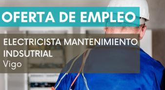 electricista mantenimiento industrial